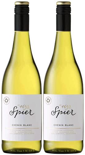 Spier Signature Collection Chenin Blanc 2020 | Weißweinpaket Südafrika (2 x 0.75l) | Trocken | Weine für jeden Geschmack von CAPREO