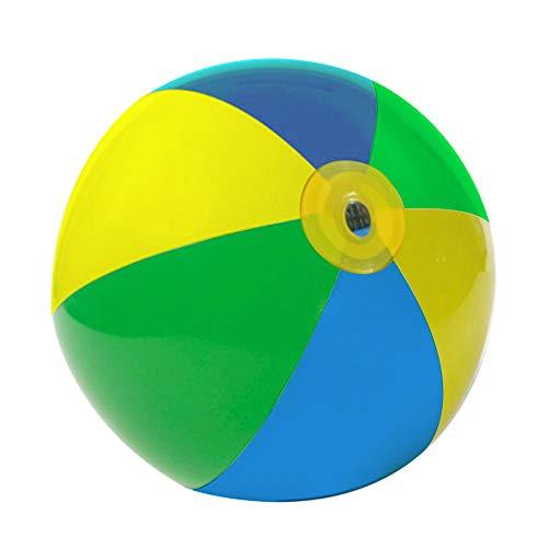 Hylotele Beach Ball Kids Aufblasbarer Beach Sprinkler Wassersprühball, Sommer Wassersport Sprinkler Spray Beach Ball, aufblasbare Sprinklerspielzeuge für Garten, Gartenaktivitäten und Partys