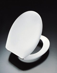 Pressalit 75000-UN3999 WC-Sitz Scandinavia weiß mit Deckel und Universalscharnier (BN3)
