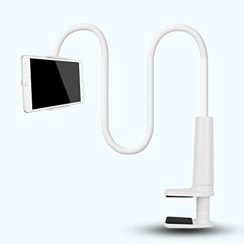 Supporto flessibile per tablet del supporto per scrivania tablet pigro staffa da braccio girevole a 360 ° con supporto per tablet iPad iPad Air Pro iPhone per dispositivi Samsung tablet 4 – 27,9 cm