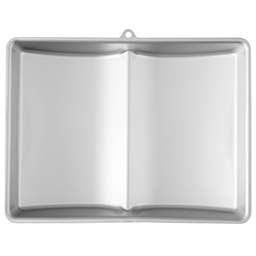 Wilton Large Aluminum 3D Book Cake Pan