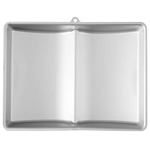 Wilton 3D-Kuchenform Buch, Groß, Aluminium