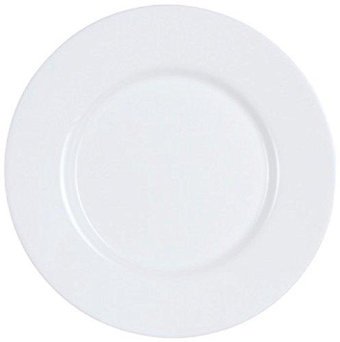 Dajar Speiseteller Every Day, Glas, Weiß, 24 cm
