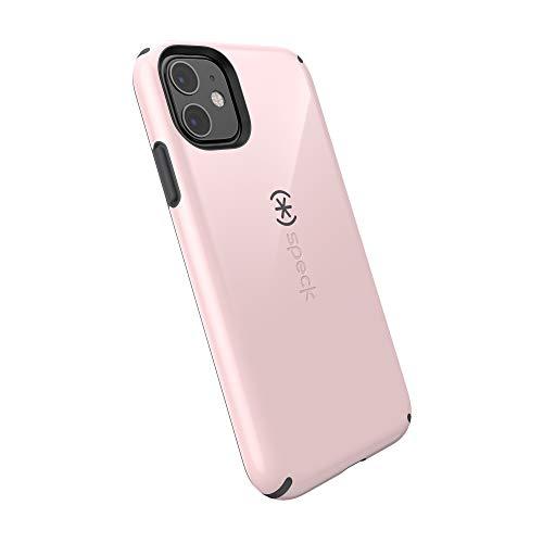 Speck CandyShell iPhone 11 Case, Quartz Pink/Slate Grey