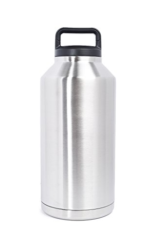 The Lobo Leak-Proof Stainless Steel Double-Walled Vacuum Insulated Large Capacity Bottle Growler Thermos Flask 64 OZ
