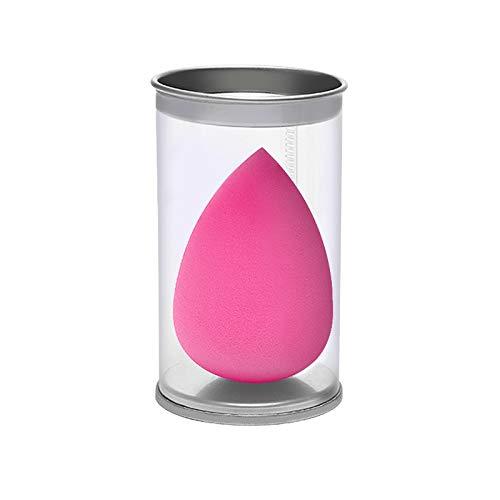 JIALONGZI Make-up Beauty Blender,Comfortabele Touch spons Latex Gratis Milieuvriendelijk en Niet-Allergeen Geweldig voor Contouring en Blending Makkelijk schoon te maken Medium Rood