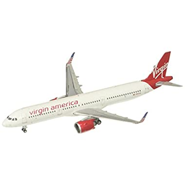 GeminiJets Virgin America A321neo N921VA 1:400 Scale Diecast Model Airplane