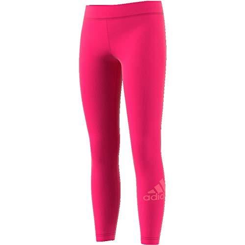adidas Kinder Must Haves Badge of Sport Strumpfhose, Real Magenta/Semi Solar Pink, 152