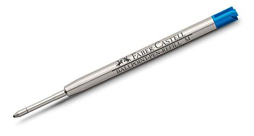 ファーバーカステル 伯爵コレクション『共通 ボールペン用替芯 ブルーM (中字) 』