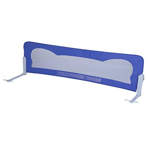 Poncherish Barriera letto sponda letto bambini 102*42cm (blu)