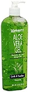 Walgreens Aloe Vera Replenishing Body Gel, 16 oz