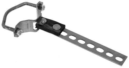 1 uitlaathouder 2 inch tot 2,5 inch (50-64 mm).