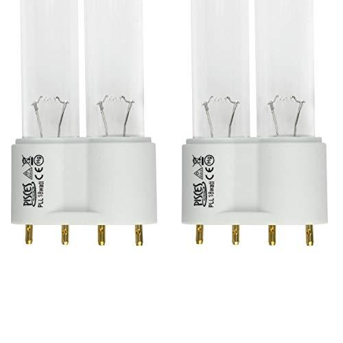 T5-Ersatz-UV-Lampe mit 18Watt für Teichfilter (Doppelpack)