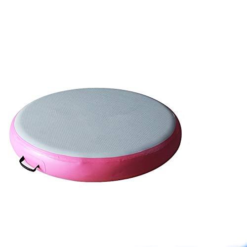 Kacsoo Colchoneta hinchable de yoga de 20,3 cm de grosor, con bomba de aire, para gimnasio, entrenamiento, yoga, gimnasia