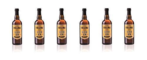 Birra Follina - Sanavalle - Birra Artigianale Belgian Amber Ale non filtrata e non pastorizzata - 75cl - Gradazione Alcolica 6.0% - Prodotta in Italia (6)