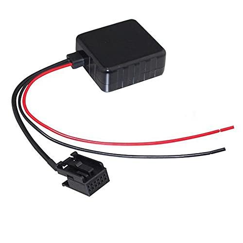 ZSYLOVE ZHANGSUYUAN Módulo Bluetooth del Coche Auxiliar Ajuste de Audio for Ford Focus Mk2 Fiesta C-MAX Adaptador de Cable Auxiliar de Radio estéreo