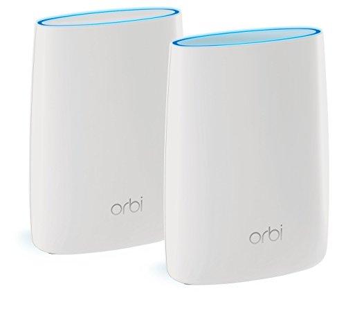 NETGEAR メッシュWiFi無線LANルーター2台セット 11ac 速度AC3000 トライバンド Orbi 推奨60台/350㎡ RBK50