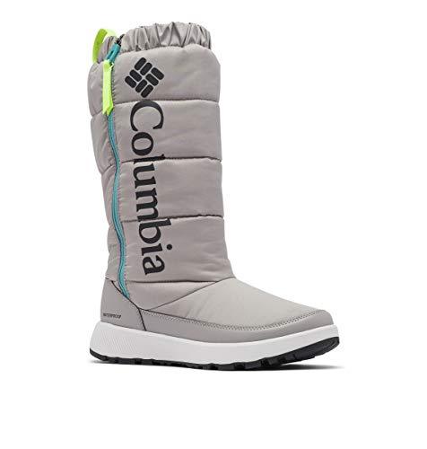 Columbia Women's PANINARO Omni-Heat Tall Snow Boot, ti Titanium/Voltage, 8.5