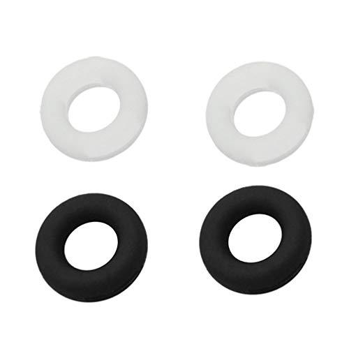 Artibetter 10 Paar/Set Siliconen Brillen Tempel Tips Mouw Houder Antislip Elastische Comfort Brilhouders Voor Spektakel Zonnebril Leesbril Eyewear