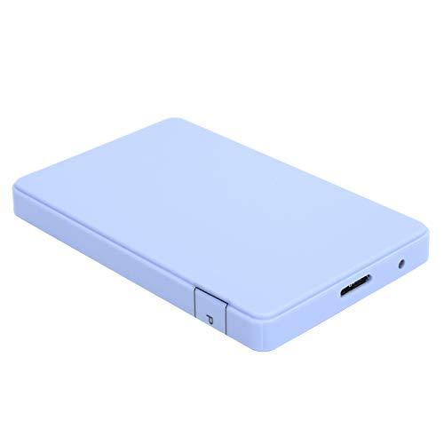 2 TB bärbar hårddisk, USB3.0 2,5 tum extern mobil hårddisk, tillräckligt med lagringsutrymme för din musik, filmer och andra filer, lämplig för PC(80GB)