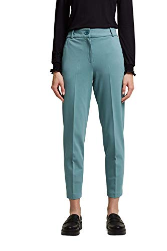 ESPRIT Collection 991EO1B308 Pantaln, 460/Dark Turquoise, 42W x 28L para Mujer