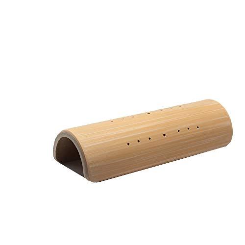 RXRENXIA En Forma De U Almohada De Bambú-NANMU Almohada Descompresión Cervical Almohada Tracción Reparación Alivio Dolor De Cabeza Tratamiento Almohada Altura 35 * 7