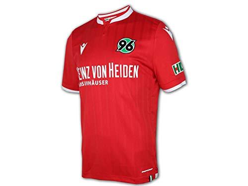 Macron Hannover 96 Heimtrikot 20 21 rot H96 Home Shirt Fan Jersey 2. Bundesliga, Größe:3XL