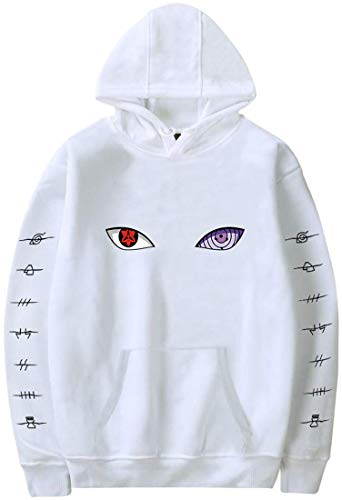 Yesgirl Herren Damen Unisex Kapuzenpullover Naruto Pullover Mit Clan Emblem Logo...