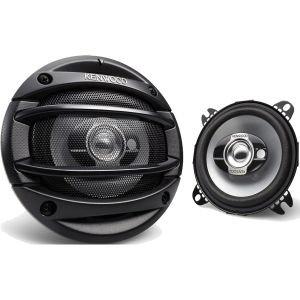 Kenwood KFC1064S 4-Inch 3-Way Car Speakers (Set of 2)