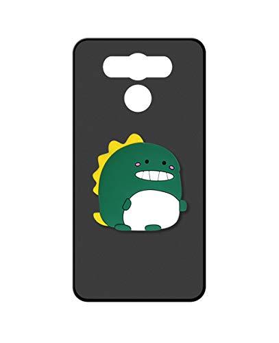 Sunrive Kompatibel mit Elephone P9000 Hülle Silikon, Ständer Fingerhalter Fingerhalterung Handyhülle matt Schutzhülle Etui Hülle (Dinosaurier) MEHRWEG