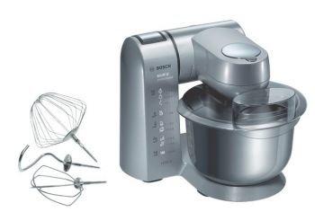 Bosch MUM8100 - Robot de cocina con carcasa metálica