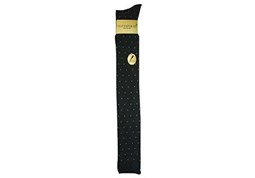 稲坂莫大小製造 癒足(いやし)『レディース 綿混 65cm丈 ドット柄 サイハイ』