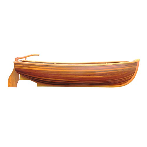 Small Wooden Dinghy Boat for 2 Persons detail review