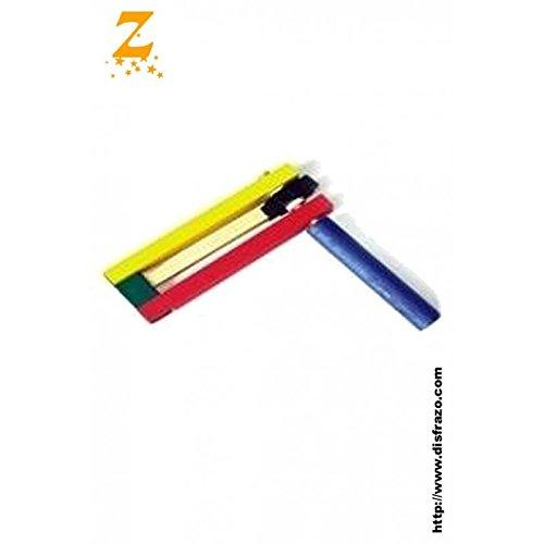 CRECELLE EN BOIS 15 cm JOUET MUSICAL