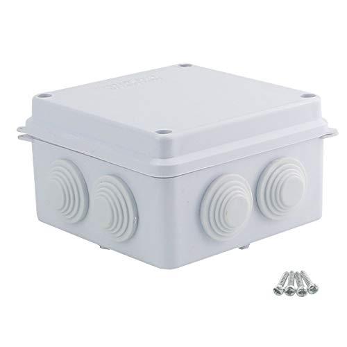 Sunnyglade Plastic Waterproof Dustproof Junction Box DIY Case Enclosure (3.9