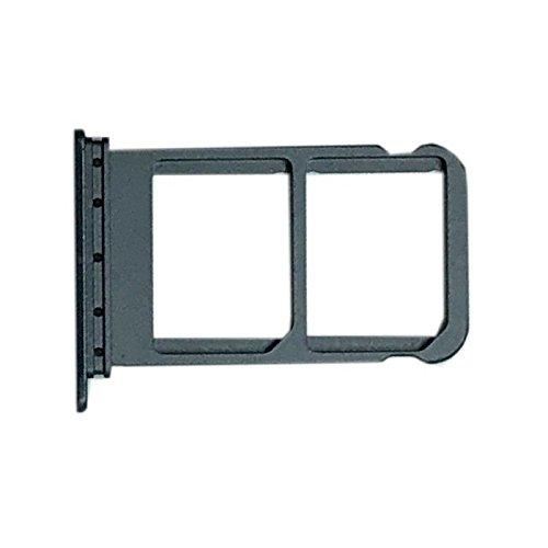 Kompatibel mit Huawei Mate 10 Pro BLA-L09 (Single Sim) und BLA-L29 (Dual Sim) Halterung, Adapter-Slot, SIM-Kartenhalter, Schwarz, Schwarz