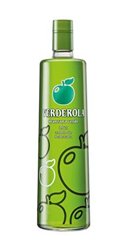 Verderola Licor De Manzana Verde Sin Alcohol - 1000 ml