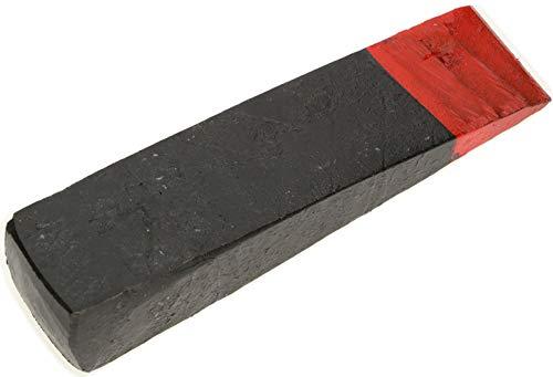 KOTARBAU® Geschmiedeter Spaltkeil aus Stahl 216 mm 2.5 kg Keil Spaltgranate Holzspaltkeil Holzspalter Fällkeil Scheitkeil Nachsetzkeil Treibkeil zum Fällen und Spalten von Holz