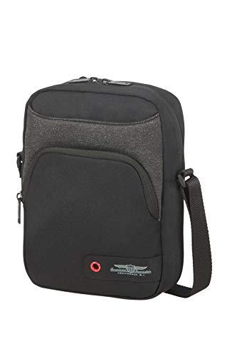 American Tourister City Aim Shoulder Bag 25cm, Black (Black) - 125016/1041