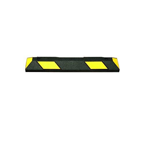 MORAVIA 284.26.220 Radstop, Länge 900 mm, schwarz/gelb reflektierend