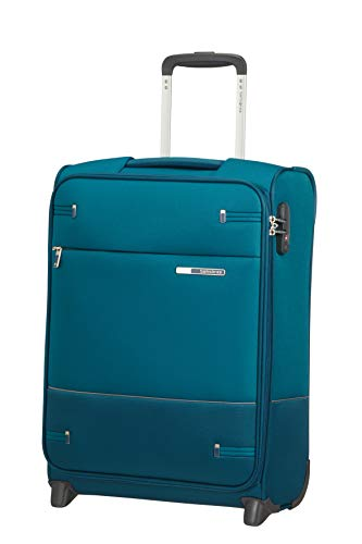 Samsonite Base Boost - Upright S (Longitud: 40 cm) Equipaje de Mano, 55 cm, 41 L, Azul (Petrol Blue)