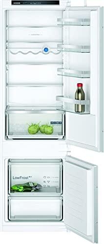 Siemens KITEC KI87VVSE0 iQ300 - Congelador empotrado (E / 216 kWh/año / 200 l/sistema de frescor HyperFresh/LowFrost/iluminación interior LED/BigBox