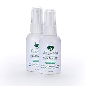 Loving Naturals Hand Cleaner Spray. 2oz Bottle, 2 Pack