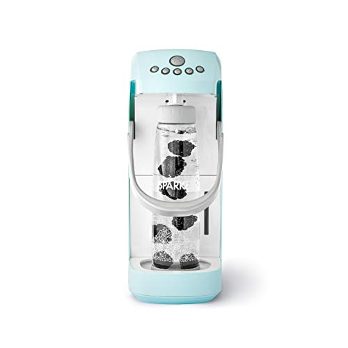 Spärkel Beverage System (Seafoam) - Sparkling Water and Soda Maker - A New Way of Sparkling - Use Fresh & Natural Ingredients - No CO2 Tank Needed