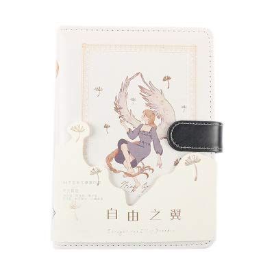 A6 Cute Girl Coloring Notebook Illustrazione Portatile Weekly Planner 2020 Notepad Creativo Viaggiatori Journal Diary Notebook (Color : Weekly Plan Pu G Yin)