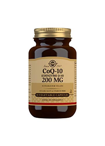 Solgar Coq-10 (Coenzyme Q-10) 200 Mg Vegetable Capsules - Pack of 30