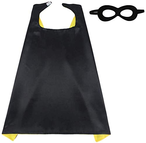 Kids Superhero Cape Mask Set - Hero Costume Fancy Dress Cosplay - Party...