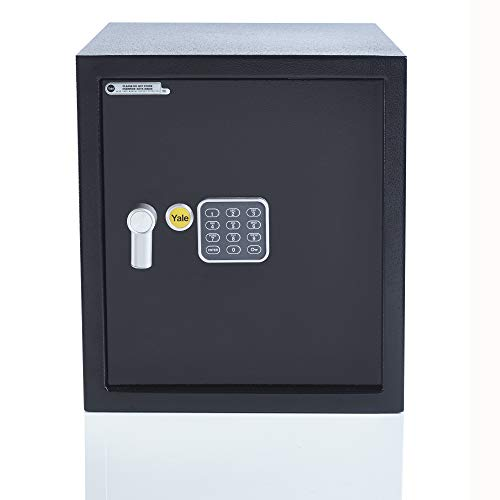 Yale YEC/390/DB1 - Large Alarmed Value Safe - 130db built-in Al