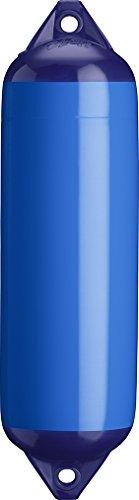 Polyform ポリフォーム フェンダー Fシリーズ アイ加工 ボート ヨット 船 船具 係留 係船 岸壁 桟橋 防舷材 マリーナ (ブルー, F-1 152×610mm)