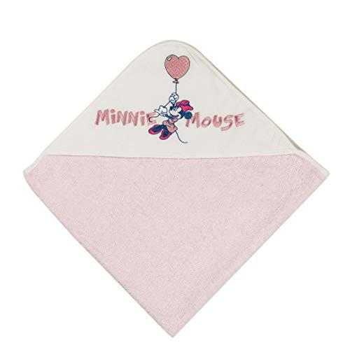 ellepi accappatoio triangolo in spugna neonata/o DISNEY art. WB 7010/7011 (rosa)
